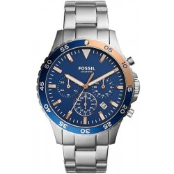 Buy Men's Fossil Watch Crewmaster CH3059 Quartz Chronograph