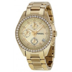 Buy Women's Fossil Watch Decker ES2683 Quartz Chronograph