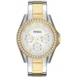 Buy Women's Fossil Watch Riley ES3204 Quartz Multifunction