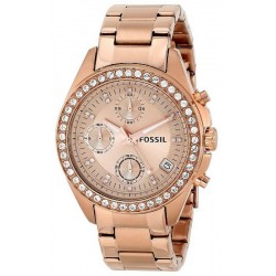 Buy Women's Fossil Watch Decker ES3352 Quartz Chronograph