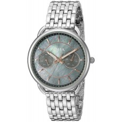 Buy Women's Fossil Watch Tailor ES3911 Mother of Pearl Quartz Multifunction