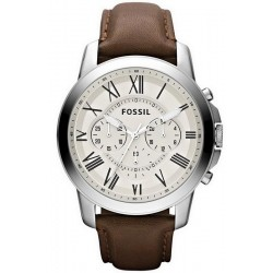 Buy Men's Fossil Watch Grant FS4735 Quartz Chronograph