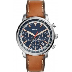Buy Men's Fossil Watch Goodwin Chrono FS5414 Quartz