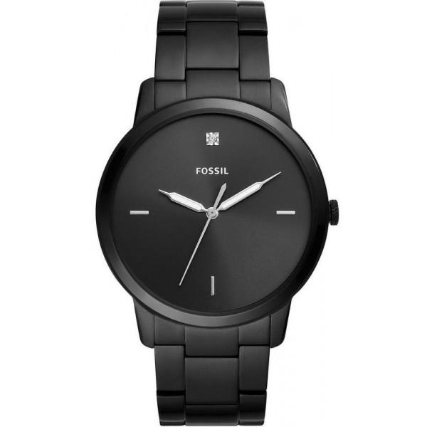 Buy Men's Fossil Watch The Minimalist 3H FS5455 Quartz