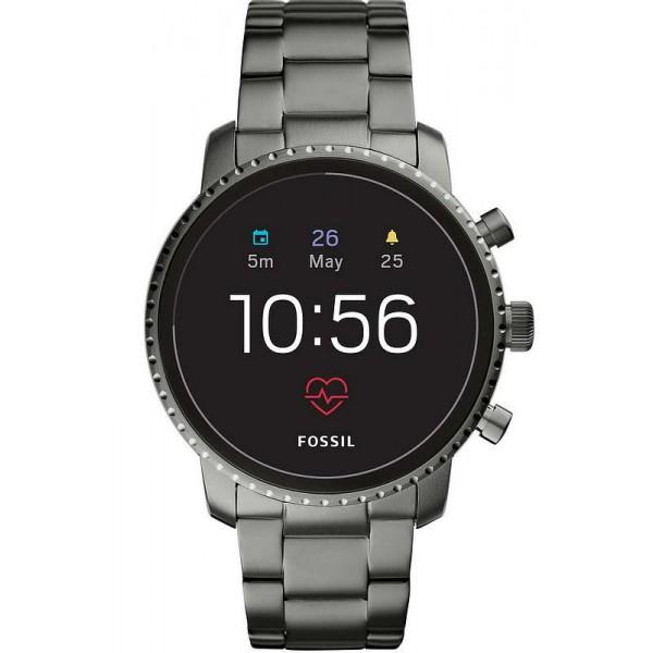 Buy Men's Fossil Q Watch Explorist HR FTW4012 Smartwatch