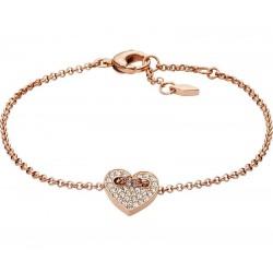 Women's Fossil Bracelet Vintage Motifs JF02283791 Heart