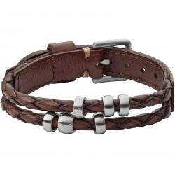 Buy Men's Fossil Bracelet Vintage Casual JF02345040