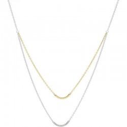 Women's Fossil Necklace Vintage Glitz JF02917998