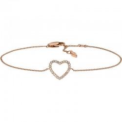 Women's Fossil Bracelet Vintage Glitz JF03085791 Heart