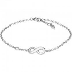 Women's Fossil Bracelet Sterling Silver JFS00393040