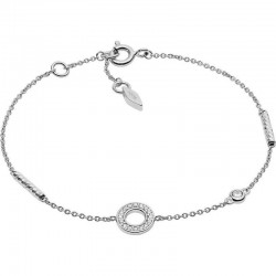 Women's Fossil Bracelet Sterling Silver JFS00474040