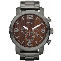 Buy Men's Fossil Watch Nate JR1355 Quartz Chronograph