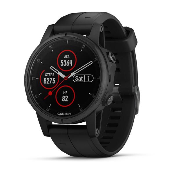 Buy Unisex Garmin Watch Fēnix 5S Plus Sapphire 010-01987-03 GPS Multisport Smartwatch