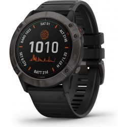 Buy Mens Garmin Watch Fēnix 6X Pro Solar 010-02157-21 GPS Multisport Smartwatch