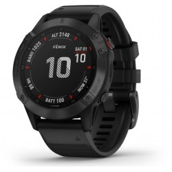 Buy Mens Garmin Watch Fēnix 6 Pro 010-02158-02 GPS Multisport Smartwatch