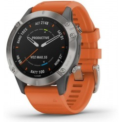 Buy Mens Garmin Watch Fēnix 6 Sapphire 010-02158-14 GPS Multisport Smartwatch