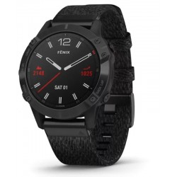 Buy Mens Garmin Watch Fēnix 6 Sapphire 010-02158-17 GPS Multisport Smartwatch
