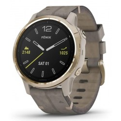 Buy Unisex Garmin Watch Fēnix 6S Sapphire 010-02159-40 GPS Multisport Smartwatch