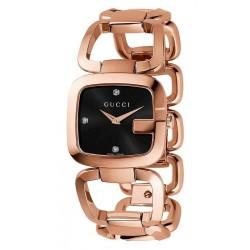 Buy Women's Gucci Watch G-Gucci Medium YA125409 Diamonds Quartz