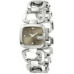 Buy Women's Gucci Watch G-Gucci Small YA125503 Diamonds Quartz