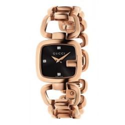 Buy Women's Gucci Watch G-Gucci Small YA125512 Diamonds Quartz
