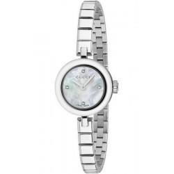 Buy Women's Gucci Watch Diamantissima Small YA141503 Diamonds Mother of Pearl