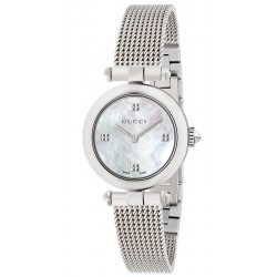 Buy Women's Gucci Watch Diamantissima Small YA141504 Mother of Pearl