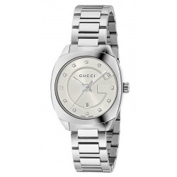 Women's Gucci Watch GG2570 Small YA142504 Diamonds Quartz