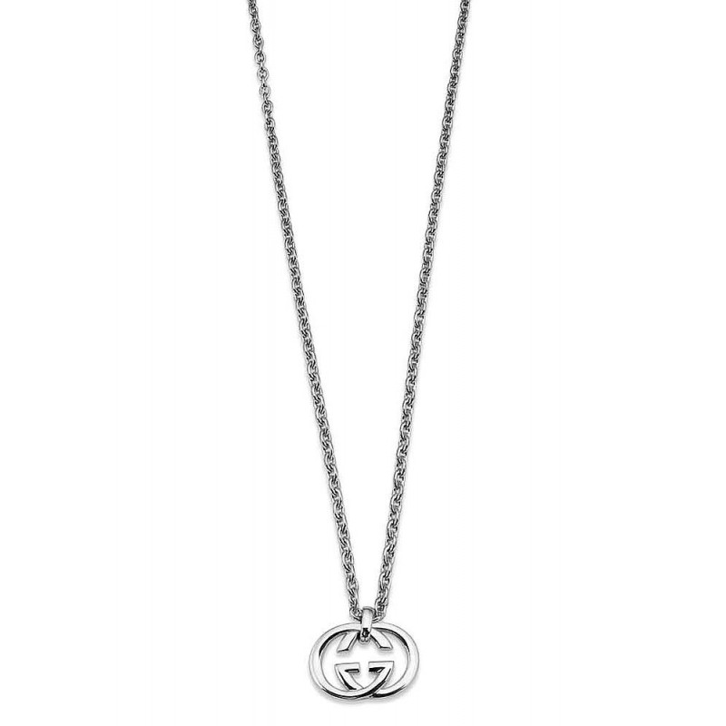 Women \u0027s Gucci Necklace Silver Britt YBB19048400100U