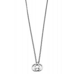 Buy Women's Gucci Necklace Silver Britt YBB19048900100U