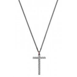Buy Men's Gucci Necklace Silver YBB31048400100U Cross