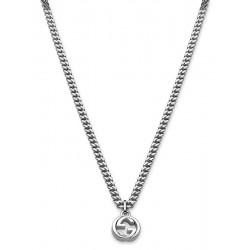 Buy Men's Gucci Necklace Silver YBB35628600100U