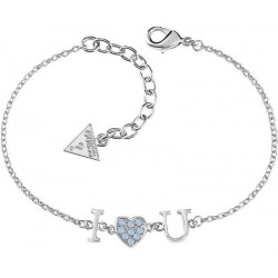 Buy Women's Guess Bracelet Kiss & Love UBB61095-S