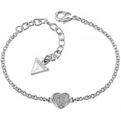 Buy Women's Guess Bracelet Heartshelter UBB71518-S Heart