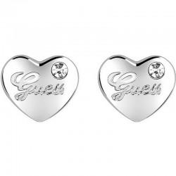 Women's Guess Earrings Iconic UBE21519 Heart
