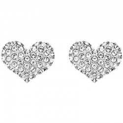 Buy Women's Guess Earrings Basic Instinct UBE51405 Heart