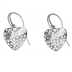 Buy Women's Guess Earrings Glossy Hearts UBE51433 Heart