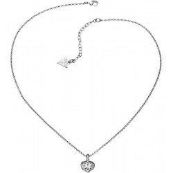 Buy Women's Guess Necklace Crystals of Love UBN51419 Heart