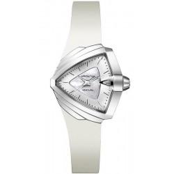 Buy Women's Hamilton Watch Ventura S Quartz H24251391 Mother of Pearl