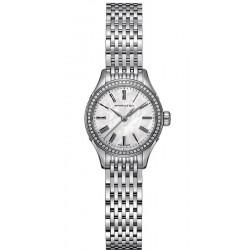 Buy Women's Hamilton Watch Valiant Quartz H39211194 Diamonds Mother of Pearl
