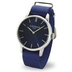Buy Men's Locman Watch 1960 Quartz 0251V02-00BLNKNB