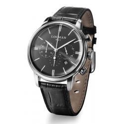 Buy Men's Locman Watch 1960 Quartz Chronograph 0254A01A-00BKNKPK