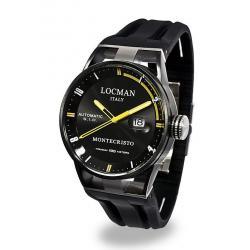Buy Men's Locman Watch Montecristo Automatic 0511BKBKFYL0GOK