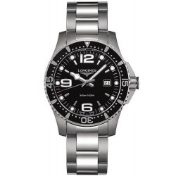 Buy Men's Longines Watch Hydroconquest L36404566 Quartz