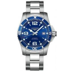 Buy Men's Longines Watch Hydroconquest L36424966 Automatic