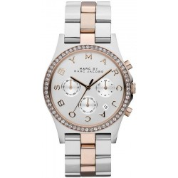 Women's Marc Jacobs Watch Henry MBM3106 Chronograph