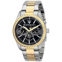 Buy Men's Maserati Watch Competizione R8853100008 Quartz Multifunction
