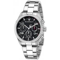 Buy Men's Maserati Watch Competizione R8853100012 Multifunction Quartz