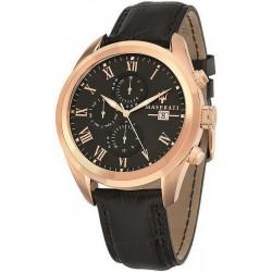 Buy Men's Maserati Watch Traguardo R8871612002 Quartz Chronograph
