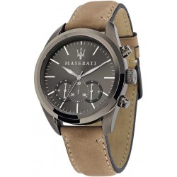 Buy Men's Maserati Watch Traguardo R8871612005 Quartz Chronograph